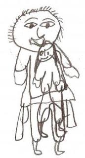 imag4271 abuso - imag4271 - Os monstros da minha casa: Desenhos de crianças retratando o abuso que sofreram