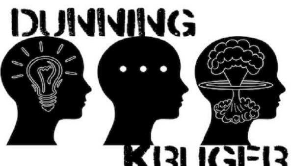 dunning-kruger - dunning kruger - O efeito Dunning-Kruger: Quanto menos sabemos, mais inteligentes pensamos que somos