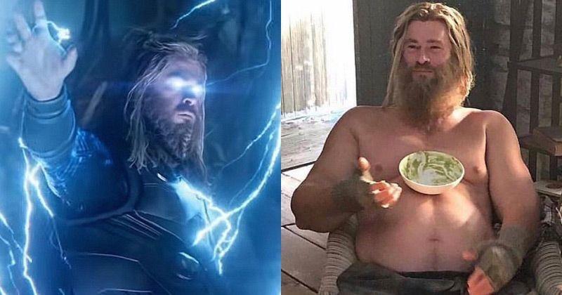 thor - thor depress  o - O ciclo de Thor em 'Vingadores: Ultimato' contém uma importante mensagem sobre a depressão que ninguém percebeu